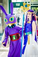 Ravio and  Hilda Cosplay 3 by NekoLoveLetter