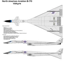 XB-70 Valkyrie by bagera3005