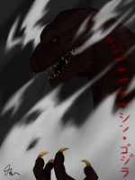 SHIN GOJIRA by CrazyNat2012
