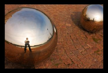 Globe Reflection II by Oct-Anaoon