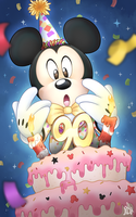 Happy Birthday, Mickey by Prince-Lionel