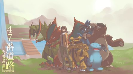 Route 47 Team Commission by AutobotTesla