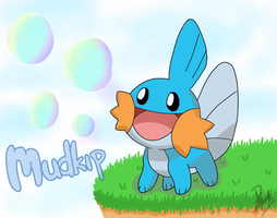 Pokemon Mudkip.