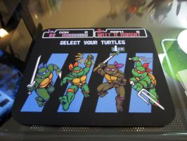 Ninja Turtles Mousepad - Custom Order by likelikes