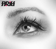 Leona Lewis EYE Drawing by riefra