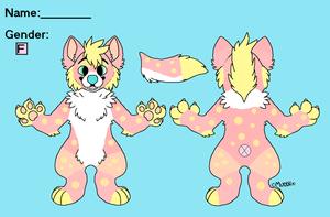 Pink Lemmonaid Hyena Adopt - ADOPTED by captainrex911