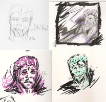 LLussive Man Doodles by Jane2Audron