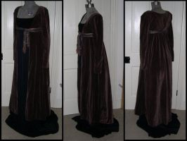 Brown Regency Coat by ElegantlyEccentric