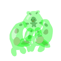 Reuniclus and Green Devil: Fusion by DjimmiGreat