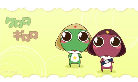 keroro and giroro by CrazyLleH