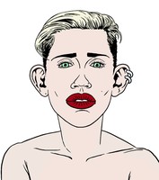 Miley Cyrus by allistermac