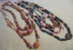 NaturesGreenandAmber Necklaces by DAnnsCreations
