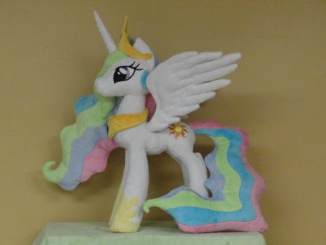 Princess Celestia with updated pattern by WhiteDove-Creations