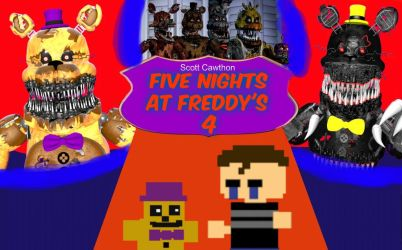 Five Nights At Freddy's 4: Photos by CawthonHollywood