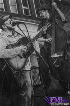The Plumb Uglies - Charcoal Dry-Painting - SOLD by TreeClimber