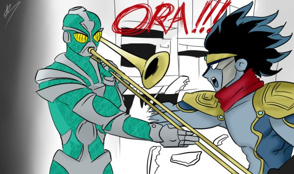 When Stand Users aren't home by DailyAriel