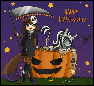 Happy Halloween 2011 by ShukiAi