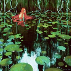Waterlilies by Camille-Marie