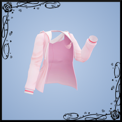 {MMD} Pink Hoodie DOWNLOAD by Reseliee