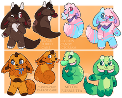 strood doods - all have homes! by CozyCatcoon