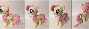 Plushie: Fluttershy v2: My Little Pony: FiM by Serenity-Sama