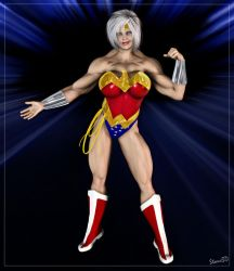Saturn: Wonder Woman Who? by Stone3D