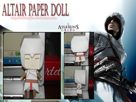 Altair Paper Doll by ChibiAddict