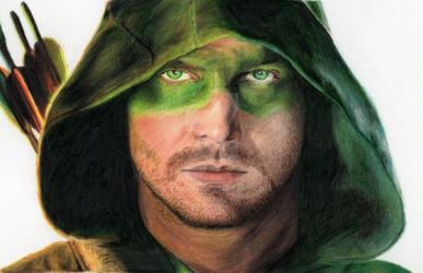 Stephen Amell-Green Arrow by bclara88