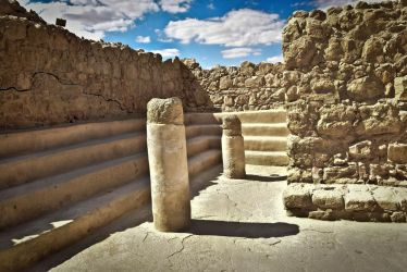 Oldest synagogue in the World, Masada Israel by Gilberto694277