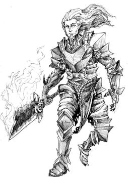 Chaos Blade Ink by EmaCamU