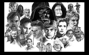 Star Wars by RichardBurgess