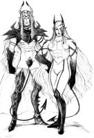 Adem and Dante 9-9-15 by Dark-SpectrumDS
