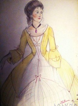 Belle - Historically accurate by LalunaPiena96