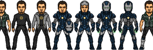 Iron Warrior Earth BETA by SpiderTrekfan616