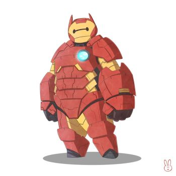 Iron-Baymax by harousel
