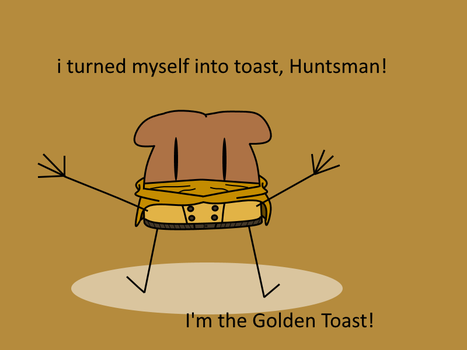 Golden Toast by Arkhamanger
