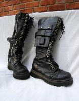 Preditor Boots by DestroyingAngels