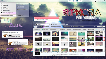 Euphoria for Windows 7 by MarNelyDesigns