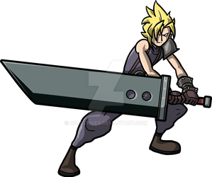 Cloud Strife by DetectiveX