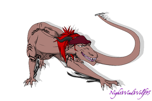 KingdomHearts2345  Request: Dragon Renji by nightwindwolf95