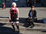 Ayase and Inori (Guilty Crown) by Nullien