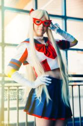 Sailor V cosplay by Tracy Graves by tracygraves
