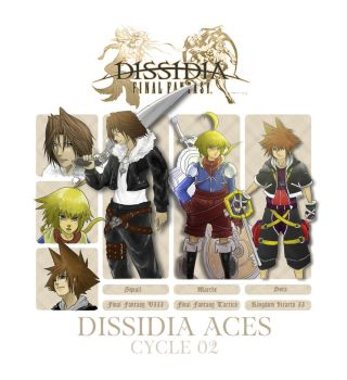 Dissidia Aces cycle 02 - preliminary round entry by 5aXoR
