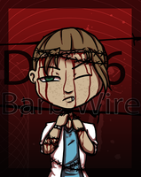 day 6-Barb Wire by BabyB01