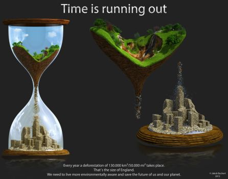 Time is running out by 3DJack