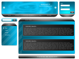 WebPortal 1.0 -- First try by Dodokiller