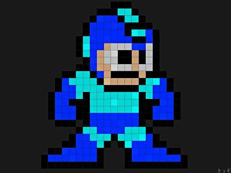Megaman by FracFx
