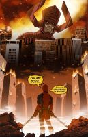 Deadpool Receives a Grim Reminder... by Red-Flare