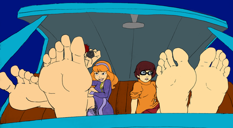 Scooby-Doo girls soles by Murati2882 (colored) by totoofzefrance