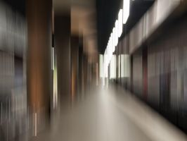 Metro station abstract by Inilein